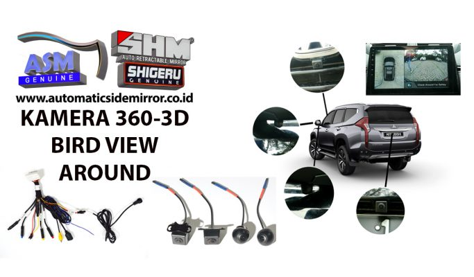 Kamera 360-3D Bird VIew Arround