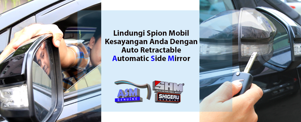 Retract Spion | Spion Lipat Otomatis | Auto Retractable Mirror