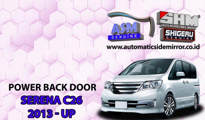 Power Back Door Serena C26 Sensor Kaki Kick Auto Lift Tail Gate