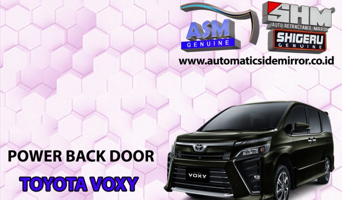Power Back Door Voxy Sensor Kaki Kick Auto Lift Tail Gate