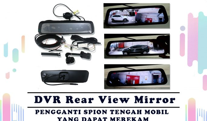 DVR Rear View Mirror